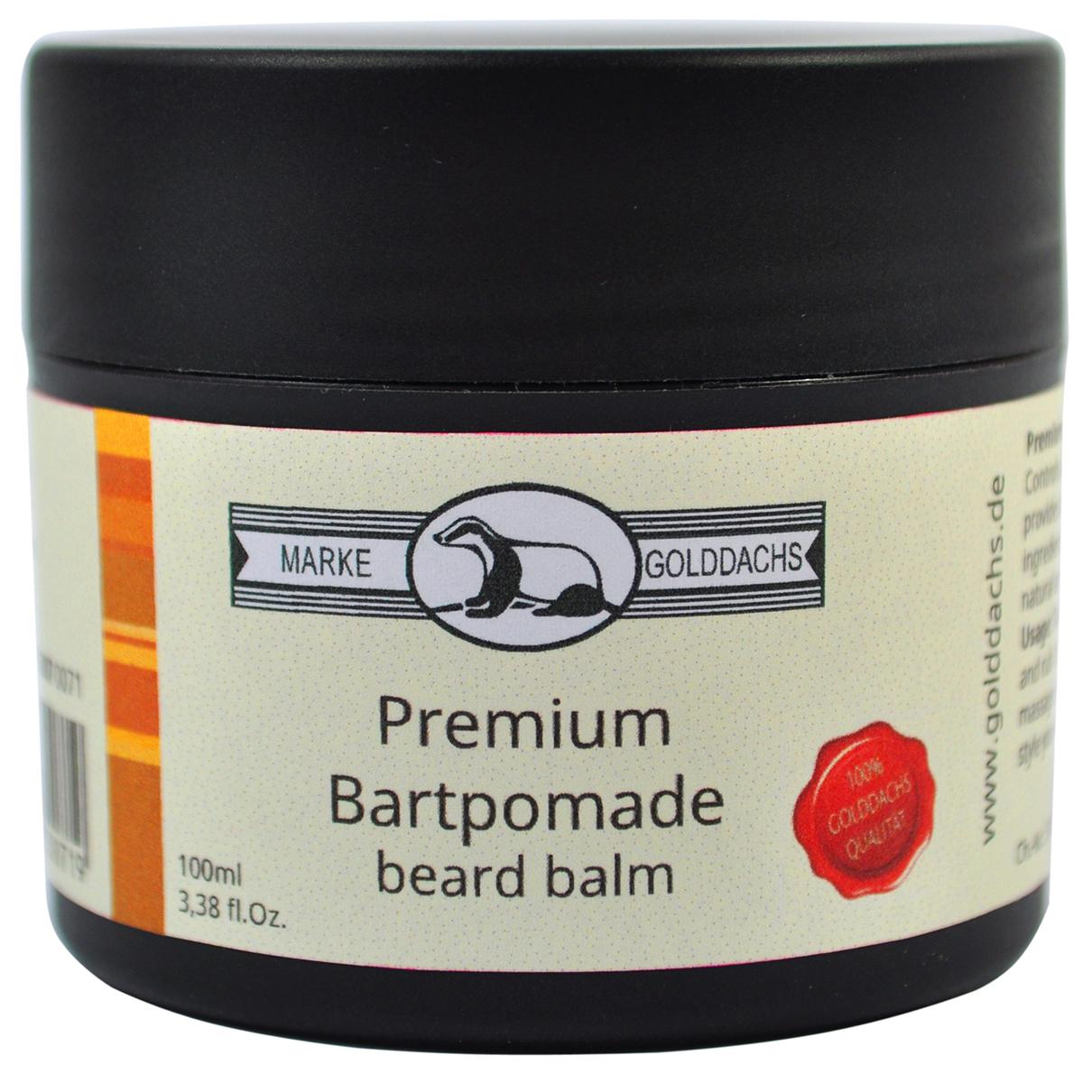 Golddachs Bartpomade