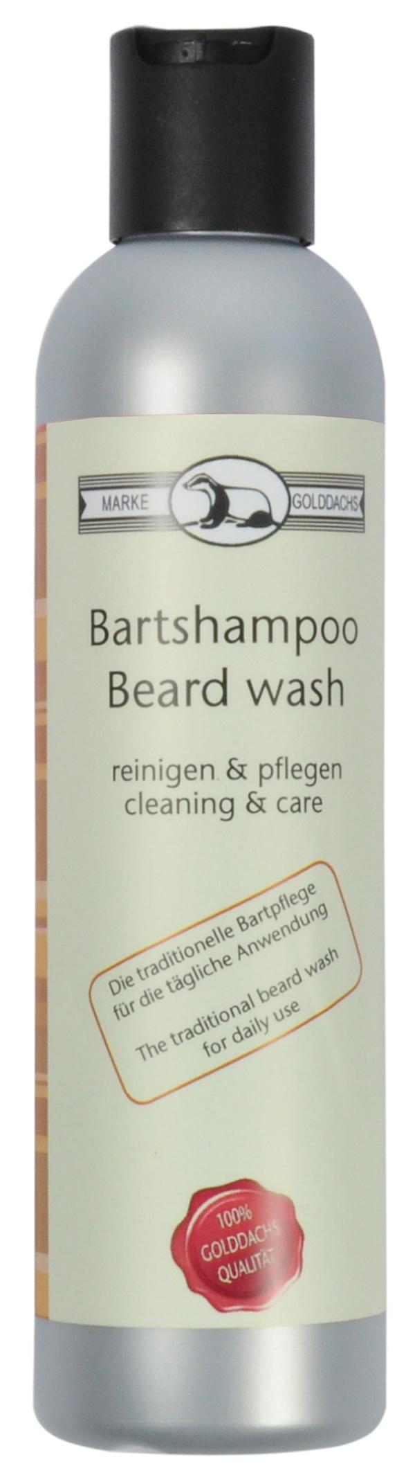 Golddachs Bartshampoo