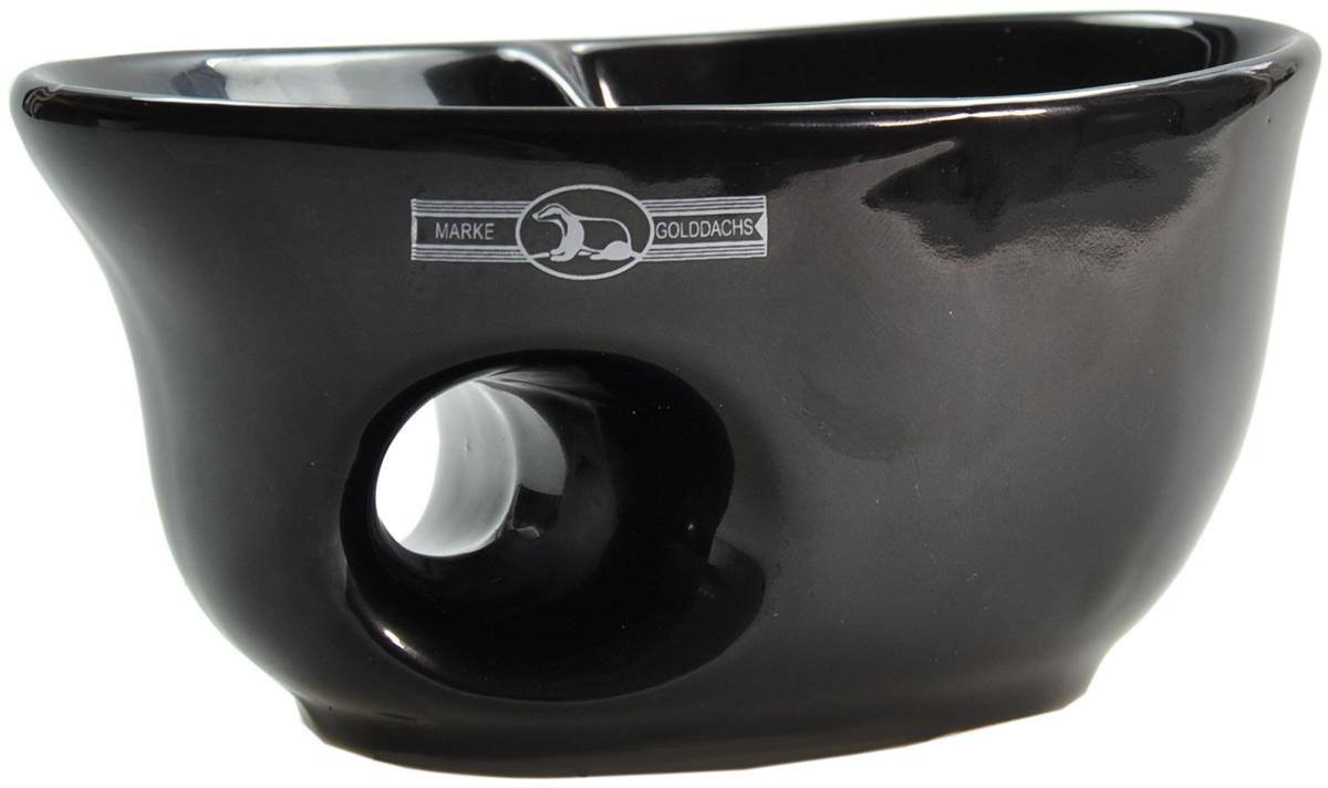 Rasiertasse, Keramik schwarz