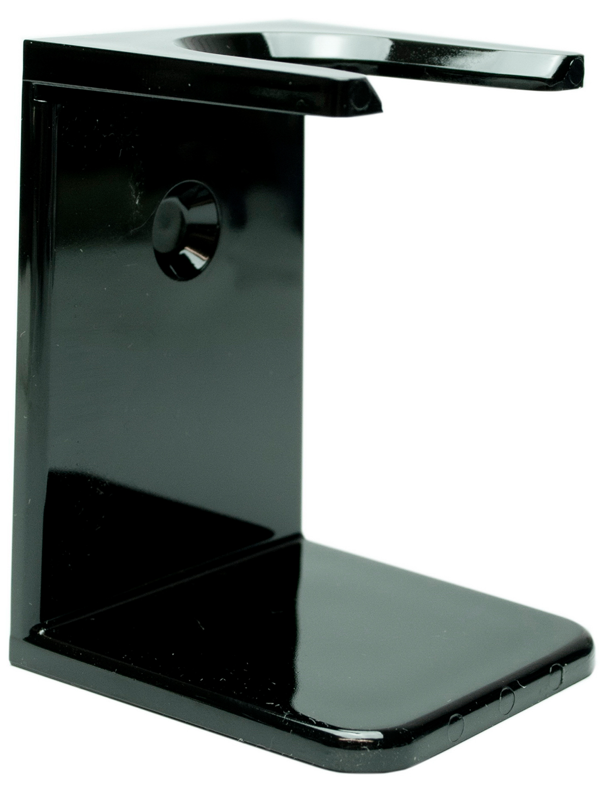 Rasierpinselhalter Kunststoff, schwarz
